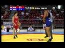 B.BUJIASHVILI GEO - G.VANGELOV BUL Bronze Final - 55 kg Junior World Championship 2013 Sofia