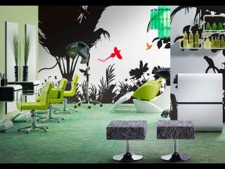 Дизайн салона и парикмахерское оборудование