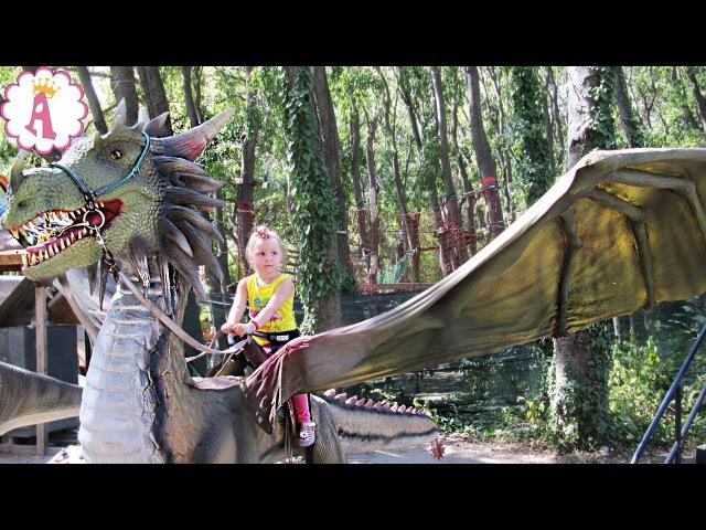 Варна Ленд развлекательный парк в центре Варны Диснейленд в Болгарии аттракцио