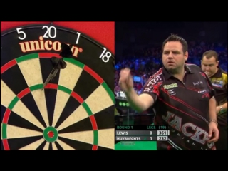 Adrian Lewis vs Kim Huybrechts (PDC Unibet Masters 2017 / Round 1)