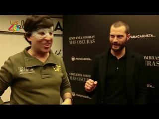 Интервью Джейми и Дакоты в Мадриде