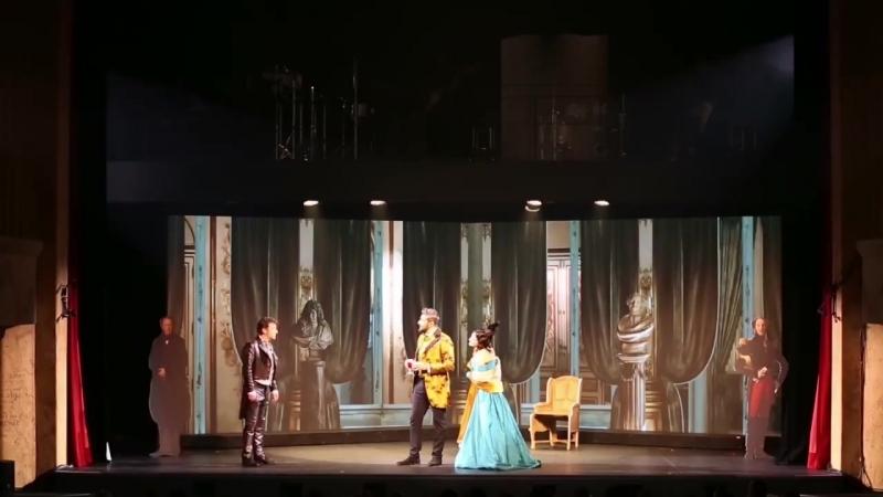 Le Rouge et le Noir - Acte 2 - Scène 11 - Julien et les Valenod