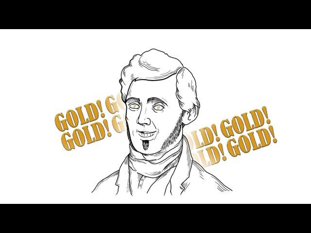 Первые герои золотой Лихорадки в Калифорнии, США