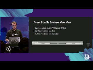 Unite Austin 2017 - Using the New Asset Bundle Browser & Graph Tool