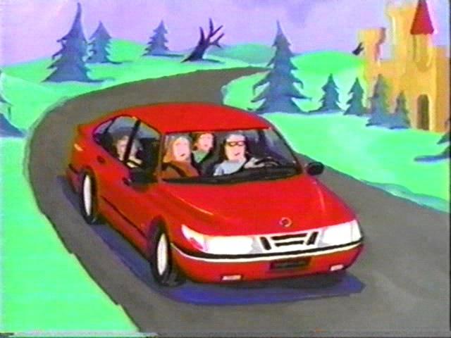 1997 Saab 900S 5-door Commercial