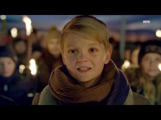 Aksel Rykkvin Walking in the air in Norwegian @ NRK TV Kvelden før kvelden 23 12 2016
