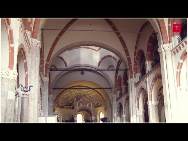 Rapporto tra ambiente e insediamenti urbani gli spazi sacri La basilica di Sant'Ambrogio a Milano