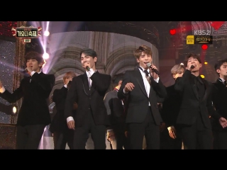 PERF 161229 BTS & all artists - One Candle ( cover) @ KBS Gayo Daechukjae
