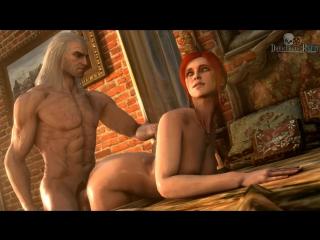 Divos Studio | The Witcher 3- секс в игре,все сцены  +18