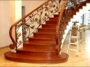 Перила 99 Изготовление лестничного ограждения Днепр фото кованое ограждение лестницы из дерева