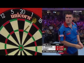Gary Anderson vs Daryl Gurney (PDC World Matchplay 2017 / Round 2)