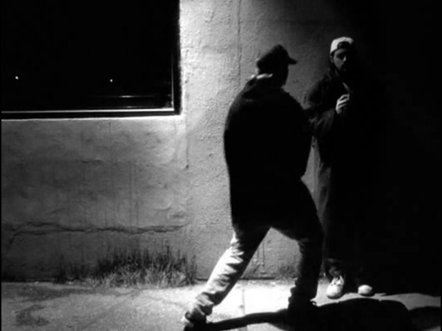 Jay and Silent Bob clerks dance