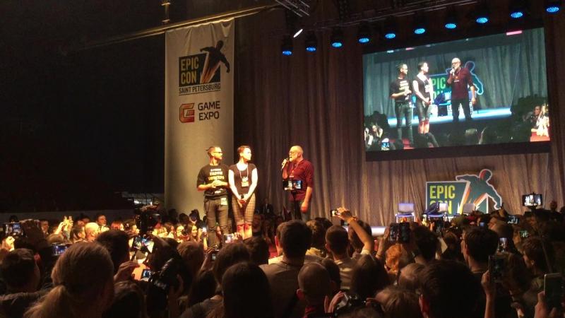 Выступление Кевина Макнелли на Epic Con СПБ