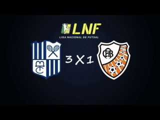 LNF2017 - Oitavas - Ida - Gols - Minas 3 x 1 ACBF