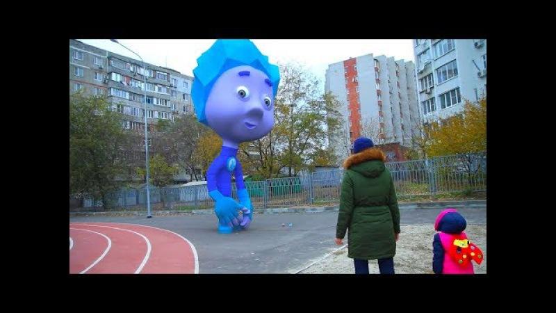 Видео для детей Фиксики fixies стали огромными top 8 серия на KidsFM