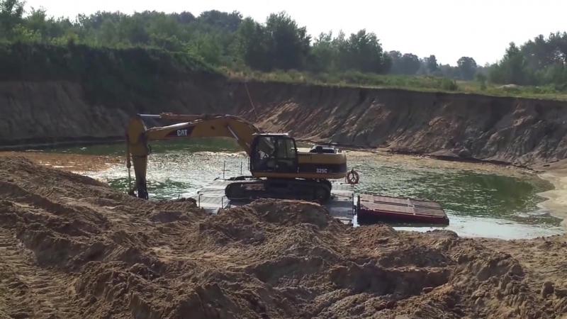 Pompa wydobywająca piasek i żwir Wichary Dragflow HY85 160HC głowice urabiające