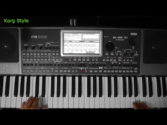 KorgStyle Enigma Sadeness Remix Korg Pa 900 DemoVersion
