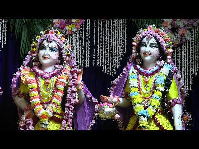 2018 Pushya Abhisheka Day in Sri Dhama Mayapur Morning Deity Darshan