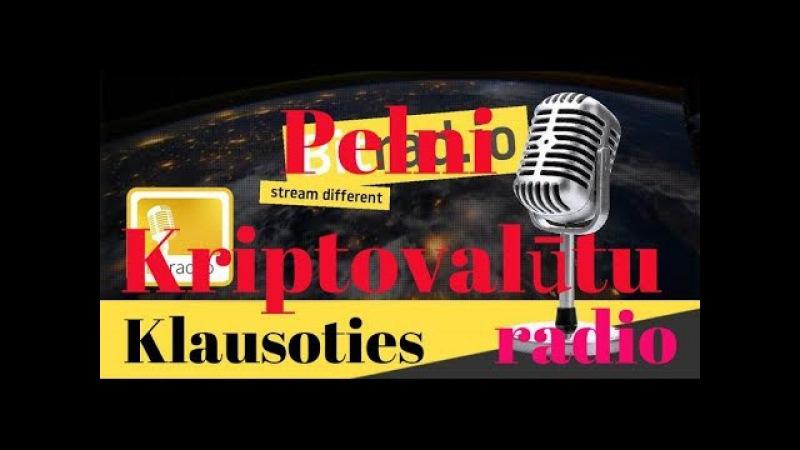 NEW! Bitradio - Pelnam kriptovalūtu klausoties radio!