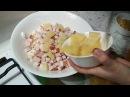 Салат из ананасов с курицей копчёной Пацюк