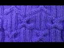 БАНТИКИ узор вязания спицами для свитера 39