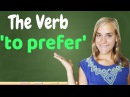 German Lesson (157) - The Verb 'to prefer' - lieber ∙ am liebsten ∙ bevorzugen ∙ vorziehen - A2
