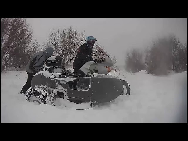 Мотоприключение Зима 2018 Honda Transalp xl650 sidecar