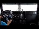 Переключение передач на старом американском тягаче коробка передач на кразе прикол
