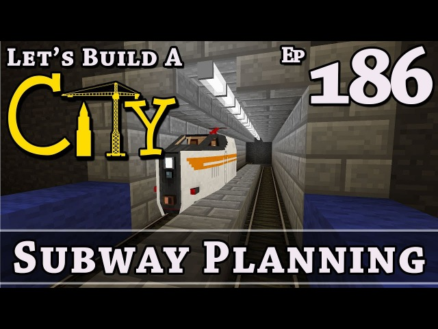 How To Build A City Minecraft Subway Planning E186