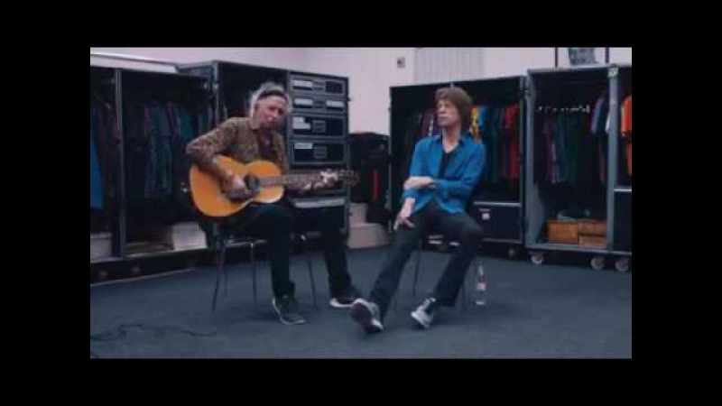 Mick Jagger Keith Richards acoustic version honky tonk Woman 2016