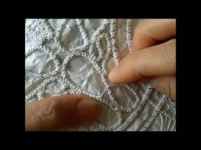 Video 11 - Dantelanglez ajur yapımı dantelangles iç dolgu