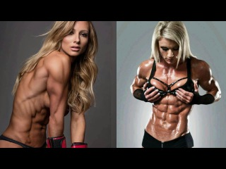Six Pack Abs & Crazy Hot Workout / Female Fitness Motivation