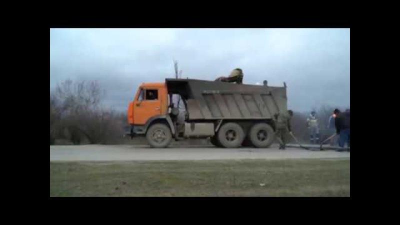 ДРОО Молодёжь с Сивух Ямочный ремонт дороги от границы села до моста 20 21 декабр