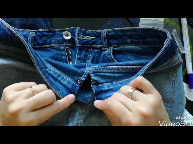 Как увеличить штаны в талии? Мой первый МК.