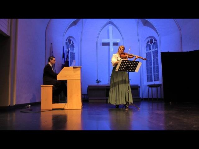 История виоль д'амур Ariosti Sonata for the Viola d'Amour