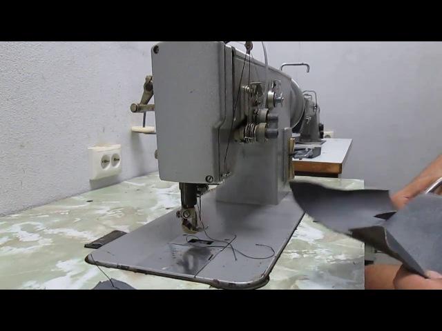 Швейная машина ПМЗ класс-3823, беспосадочная, для экстра тяжелых материалов.