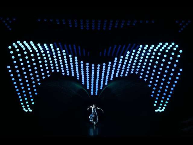 2047 APOLOGUE - a concept performance by Zhang Yimou featuring KINETIC LIGHTS