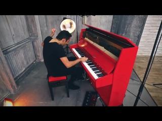 Виртуозный кавер на пианино песни Attention - Charlie Puth (Piano Cover) - Peter Bence