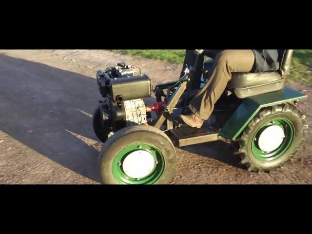Минитрактор на основе дизельного двигателя 10 Л.С. vbybnhfrnjh yf jcyjdt lbptkmyjuj ldbufntkz 10 k.c.