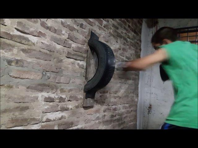 Entrenamiento de boxeo Cristian Villar