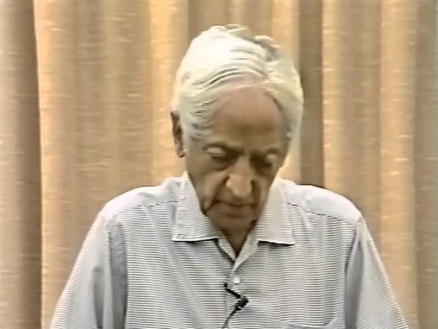 Джидду Кришнамурти Возможно ли тотальное изменение мозга Беседа 5 Швейцария Саанен 19 07 1983