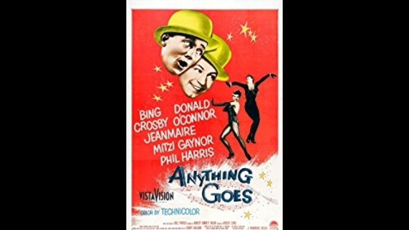 Anything Goes 1956 Bing Crosby Donald O'Connor Mitzi Gaynor Zizi Jeanmaire