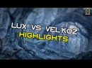 League of Legends Lux vs Vel'Koz MID Highlights ЛоЛ Люкса против Велкоза
