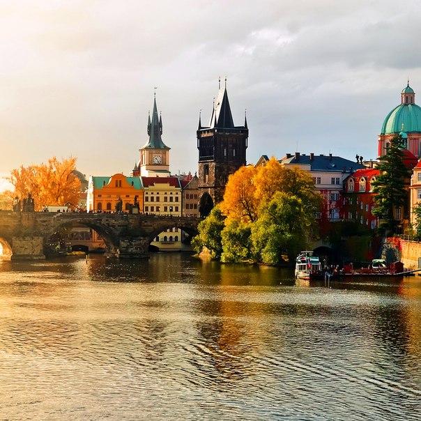 Прага в ноябре картинки