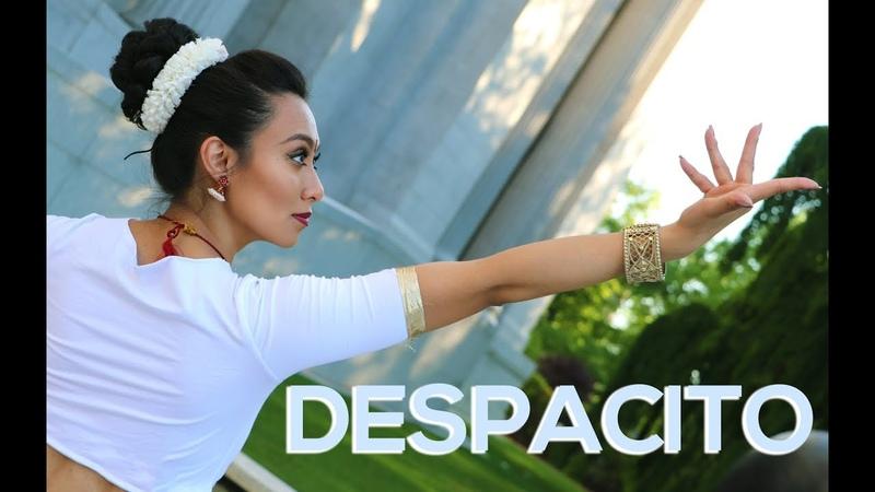 Despacito Indian Classical Version Bharatanatyam Indian Classical Choreography