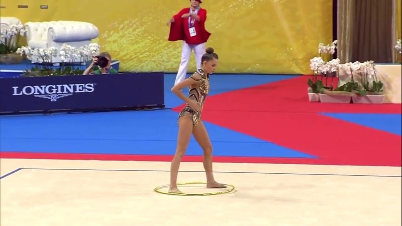 Dina Averina Hoop AA World Championships Sofia 2018