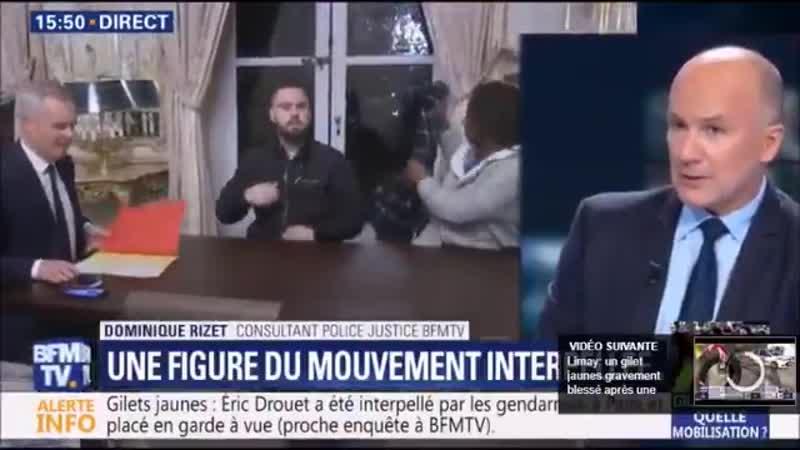 Selon linénarrable Dominique Rizet correspondant