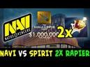 NAVI vs SPIRIT 2x RAPIER 45k gold lead — Kuala Lumpur MAJOR