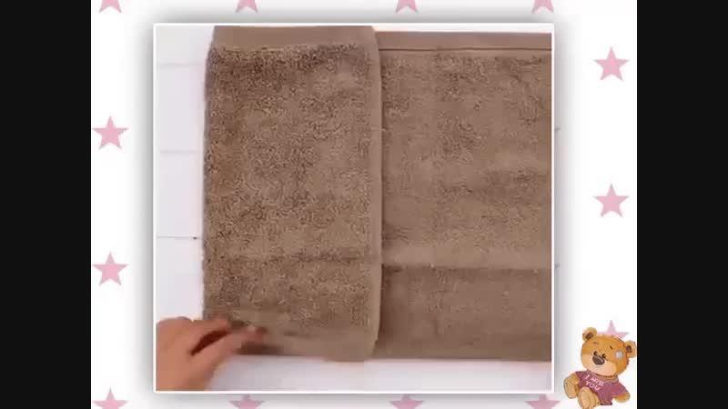 🐻мишка из полотенца ✅