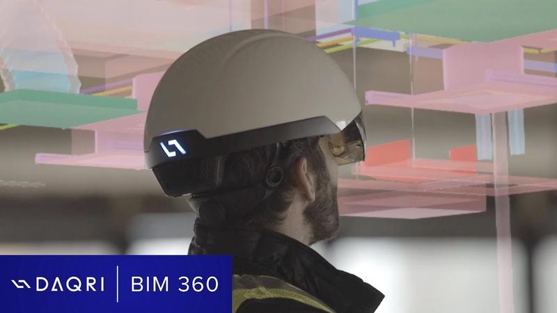 DAQRI Smart Helmet Case Study Mortenson and Autodesk